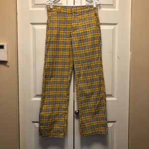 Omighty Plaid Clueless Preppy Pants